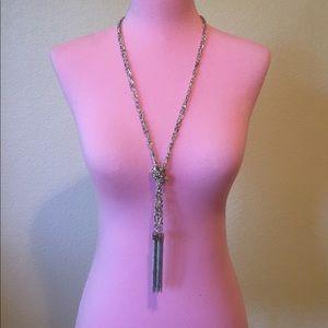 GUESS Beautiful BoHo tassel necklace